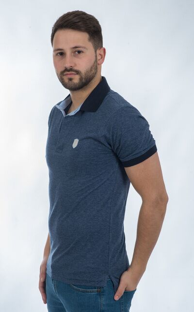 Camiseta Polo / Azul