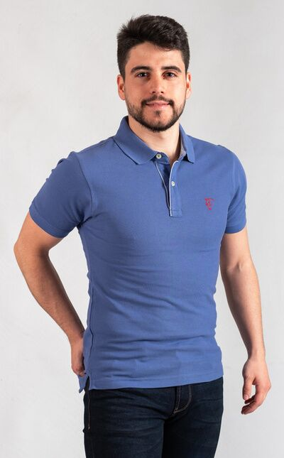 Polo Oxford | Azul Blue